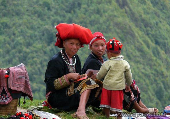 Red Dzao Minorities