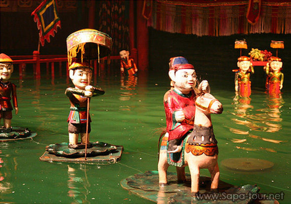 Water Puppet in Hanoi