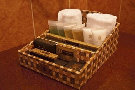 Chau Long Sapa Hotel 2 Bathroom Amenities  Chau Long Sapa Hotel 2. Bathroom Amenities In Hotel