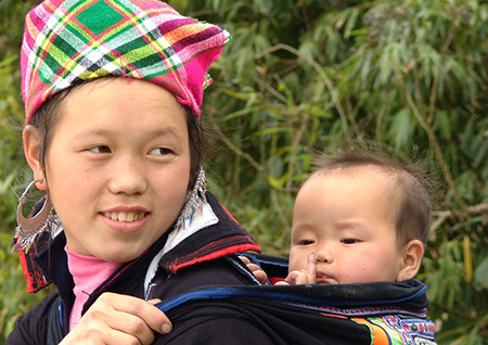 H'Mong Lady in Sapa