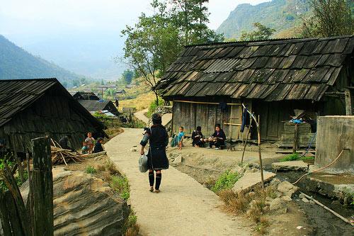 Sin Chai Village, Sapa, Vietnam