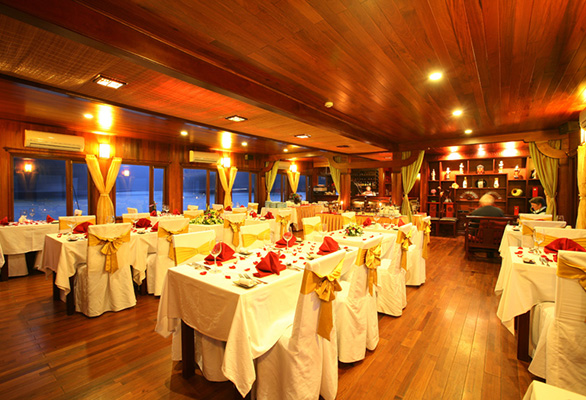 Indochina Sails Dinning Room