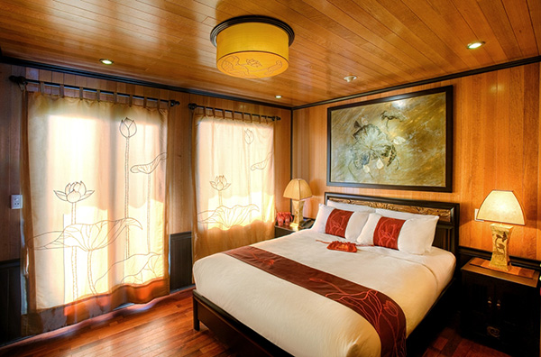 Indochina Sails Suite Double Cabin