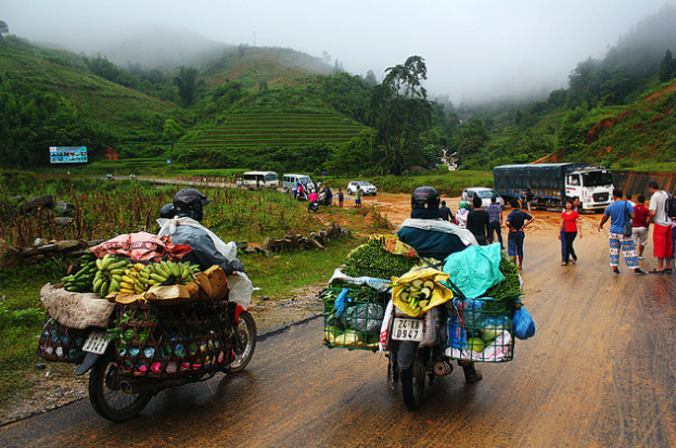 Way to Sapa