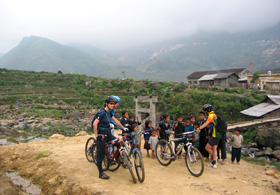 sapa trip on bycle